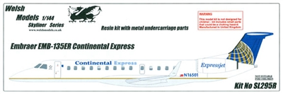 1:144 Embraer 135, Continental Express