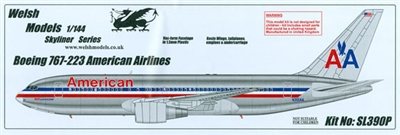 1:144 Boeing 767-200, American Airlines