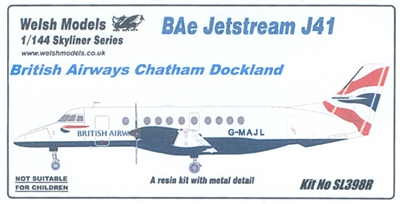 1:144 Bae Jetstream 41, British Airways