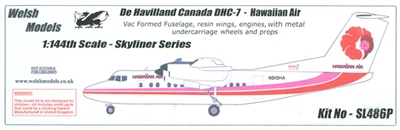 1:144 DHC-7 Dash 7, Hawaiian Airlines