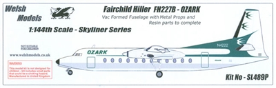 1:144 Fairchild Fh.227B, Ozark Airlines