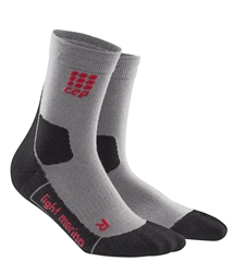 CEP Hiking Outdoor Mid Cut Socks Volcanic Dust