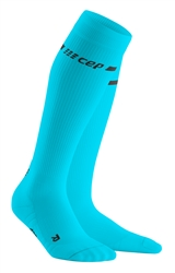 CEP Neon Compression Socks Blue