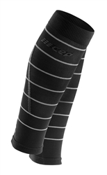 CEP Reflective Calf Sleeves Black
