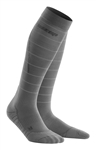 CEP Reflective Compression Socks Grey