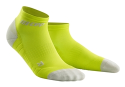 CEP Low Cut Running Socks Lime