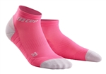 CEP Low Cut Running Socks Blue/Pink