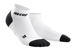 CEP Low Cut Running Socks White/Black