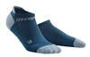 CEP No Show Running Socks Blue/Grey