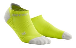 CEP No Show Running Socks Lime/Grey