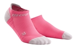 CEP No Show Running Socks Pink/Grey
