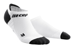 CEP No Show Running Socks White/Grey