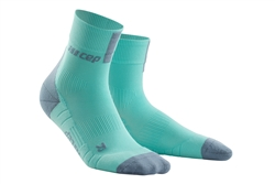 CEP Short Cut Running Socks Ice