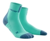 CEP Short Cut Running Socks Mint