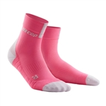 CEP Short Cut Running Socks Pink