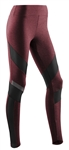 CEP Compression Training Tights Womens Cherry Red