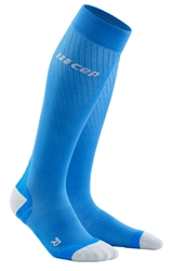 CEP Ultra Light Compression Run Socks Blue