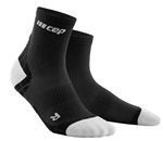 CEP Ultra Light Short Cut Socks Black