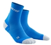 CEP Ultra Light Short Cut Socks Blue