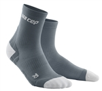 CEP Ultra Light Short Cut Socks Grey