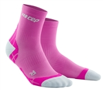 CEP Ultra Light Short Cut Socks Pink