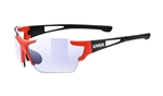 Uvex Sportstyle 803 Race VM Black Red Sunglasses