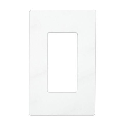 Lutron Cw  Gang Claro Wall Plate White