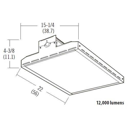 lithonia led bay lighting ibh 12000lm
