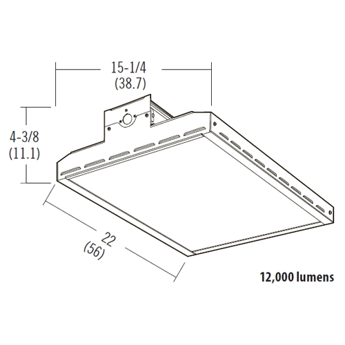 lithonia led bay lighting ibh 12l mvolt lumens wattage cct