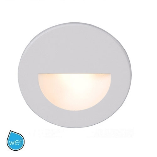 wac lighting circular scoop ledme step light wl led c lumens