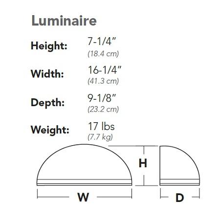 Lithonia LED Wall Pack WSQ LED 2