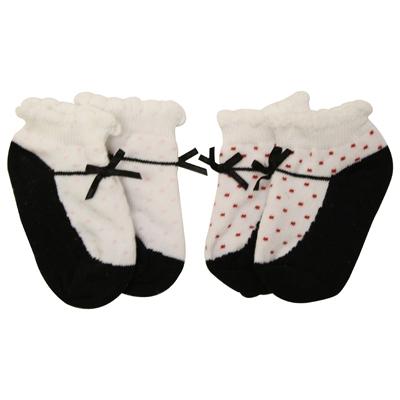 Jefferies Mary Jane Baby Socks with