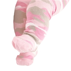 Trumpette Camo Girls Baby Tights - 1 Tights