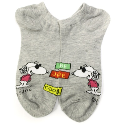 ee7f13b215 Peanuts Be Cool Grey Boys and Girls Socks - 1 Pair   Shop Kids Socks at  KidsSocks.com