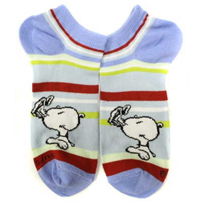 44d1cf10f8 Peanuts Picture Blue Boys and Girls Socks - 1 Pair   Shop Kids Socks at  KidsSocks.com