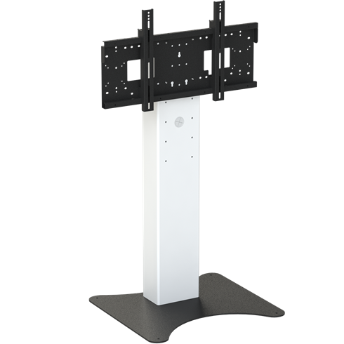 "8428 Mono Fixed Height Free Standing Screen Mount, 890-1290mm Centre of Mount 42""-86"" max 130Kg"