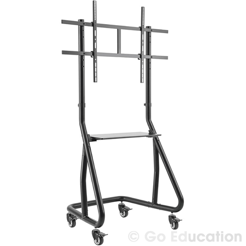 "BVS Fixed Height Touch Screen Trolley II with Shelf for upto 60""-105"" Screens"