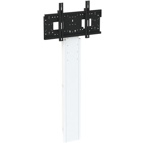 "8432 Mono Slimline Fixed Height Wall to Floor Screen Mount, 1310-1710mm Centre of Mount, 42""-95"" max 130Kg"