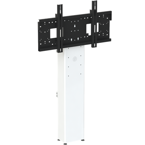 "8433 Mono Fixed Height Wall to Floor Screen Mount, 890-1290mm Centre of Mount, 42""-95"" max 130Kg"