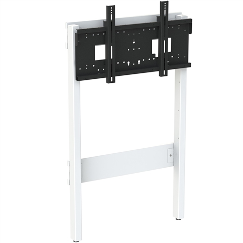 "8990 Fixed Height Wall to Floor Slimline Mount with Tilt, Multi Position, 42""-95"" max 130Kg"