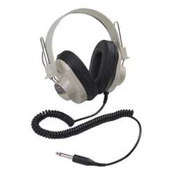 Califone 2924AVP-4 Set of 4 Deluxe Mono Headphones