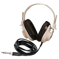 Califone 2924AVPS Deluxe Stereo Headphones with Attached Coiled Cord