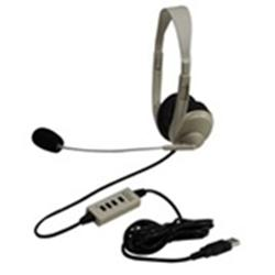 Califone 3064-USB Lightweight USB Stereo Headset