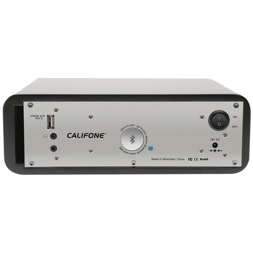 Califone PA-BT30 Portable Speaker with Bluetooth Wireless Technology