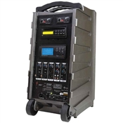 Califone PA919SD Power-Pro Portable Audio & Wireless PA SD Card Slot