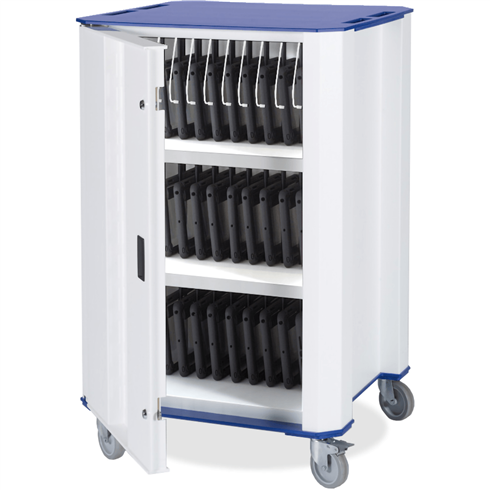 PlasTab™ AC 32 iPad/Tablets Charger Trolley