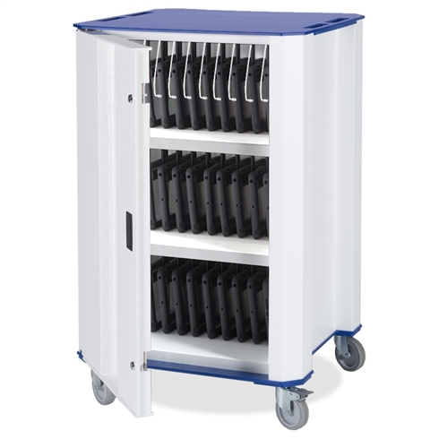 PlasTab™ USB 32 iPad/Tablets Charger Trolley