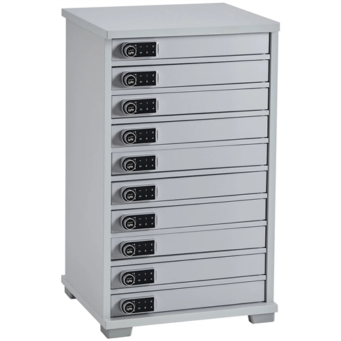 Lapcabby - Universal Lyte Multi 10 Station Charger Cabinet