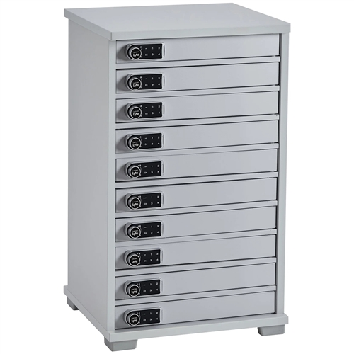 Lapcabby - Universal Lyte Multi Mini 10 Station Charger Cabinet