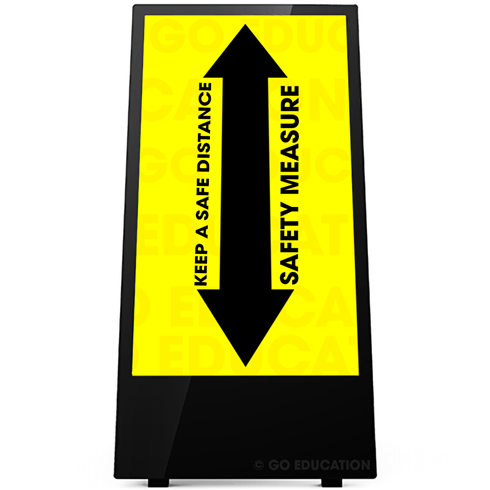 "43"" Outdoor Digital Android Battery A-Boards"